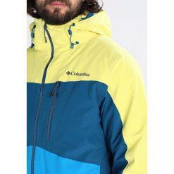 Columbia WILD CARD Kurtka narciarska acid yellow/phoenix blue. Kurtki snowboardowe męskie Columbia, z materiału. W wyprzedaży za 1,034.10 zł.