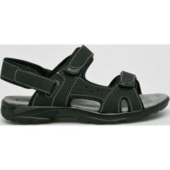 Hasby - Sandały. Czarne sandały męskie HASBY, z gumy. W wyprzedaży za 79.90 zł.
