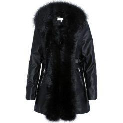 Czarny Płaszcz Enchanting. Czarne płaszcze damskie Born2be, na jesień. Za 249.99 zł.