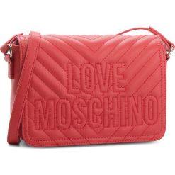 Torebka LOVE MOSCHINO - JC4262PP06KI0500  Rosso. Czerwone listonoszki damskie Love Moschino, ze skóry ekologicznej. W wyprzedaży za 479.00 zł.