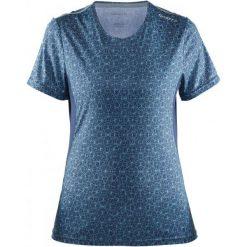 Craft Koszulka Mind Ss Blue Xs. Niebieskie koszulki sportowe damskie Craft, z materiału. W wyprzedaży za 89.00 zł.