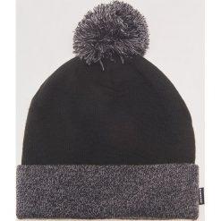 Dwukolorowa czapka z pomponem - Szary. Szare czapki i kapelusze męskie House. Za 39.99 zł.