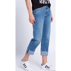 Pepe Jeans - Jeansy. Niebieskie jeansy damskie Pepe Jeans. W wyprzedaży za 159.90 zł.