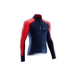 Koszulka długi rękaw na rower ROADCYCLING 900 męska. Niebieskie bluzki z długim rękawem męskie B'TWIN. Za 129.99 zł.