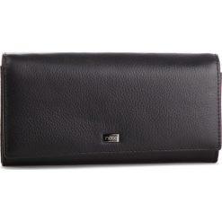 Duży Portfel Damski NOBO - NPUR-LG0130-C020 Czarny. Czarne portfele damskie Nobo, ze skóry. W wyprzedaży za 159.00 zł.