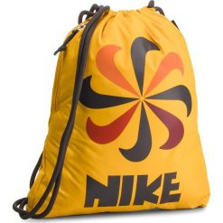 Plecak NIKE - BA5806-752 Żółty. Żółte plecaki damskie Nike, z materiału, sportowe. Za 74.00 zł.