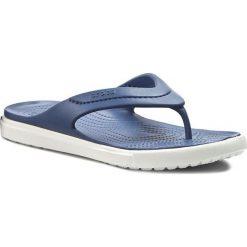 Japonki CROCS - Citilane Flip 202831 Bijou Blue/White. Niebieskie klapki damskie Crocs, z materiału. Za 149.00 zł.