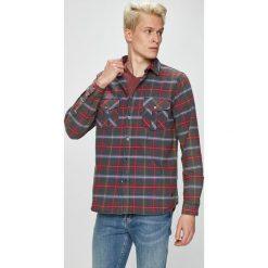 Mustang - Koszula. Szare koszule męskie Mustang, w kratkę, z bawełny, z klasycznym kołnierzykiem, z długim rękawem. Za 229.90 zł.