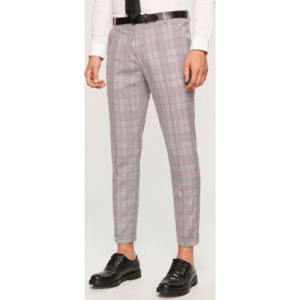 f409d593d7 Eleganckie spodnie męskie ze sklepu Reserved - Kolekcja wiosna 2019 -  Chillizet.pl