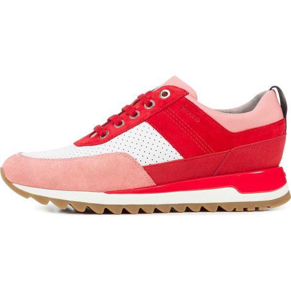 Geox tenisówki damskie Tabelya 39 czerwone