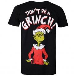 Christmas T-Shirt T-Shirt Męski Don't Be A Grinch L Czarny. Czarne t-shirty męskie Christmas T-Shirt. W wyprzedaży za 64.90 zł.