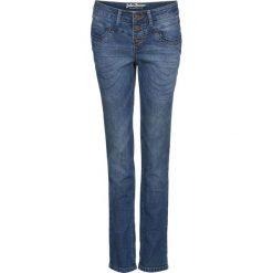 """Dżinsy """"authentik-stretch"""" STRAIGHT bonprix niebieski. Jeansy damskie marki bonprix. Za 79.99 zł."""