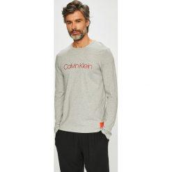 Calvin Klein Underwear - Longsleeve piżamowy. Szare bluzki z długim rękawem męskie Calvin Klein Underwear, z nadrukiem, z bawełny. Za 179.90 zł.