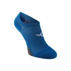 Skarpety niewidoczne fitness x2. Niebieskie skarpety męskie DOMYOS, z elastanu. Za 19.99 zł.