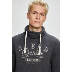 Blend - Bluza. Czarne bluzy męskie Blend, z nadrukiem, z bawełny. W wyprzedaży za 89.90 zł.