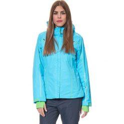 Kurtka narciarska w kolorze błękitnym. Kurtki damskie marki WED'ZE. W wyprzedaży za 432.95 zł.