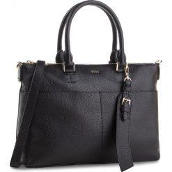 Torebka DKNY - Essex Tz Satchel R83DA751  Blk/Gold BGD. Czarne torebki do ręki damskie DKNY, ze skóry. Za 1,069.00 zł.