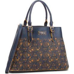 Torebka NOBO - NBAG-F0720-C013 Granatowy. Niebieskie torebki do ręki damskie Nobo, ze skóry ekologicznej. W wyprzedaży za 159.00 zł.