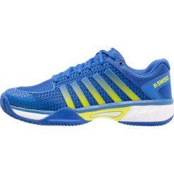 KSWISS EXPRESS LIGHT HB Obuwie do tenisa Outdoor strong blue/white/neon citron. Trekkingi męskie K-SWISS, z gumy, outdoorowe. Za 459.00 zł.