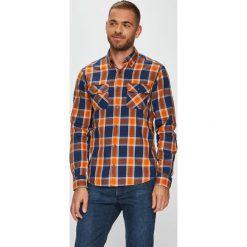 S. Oliver - Koszula. Brązowe koszule męskie S.Oliver, z długim rękawem. W wyprzedaży za 129.90 zł.