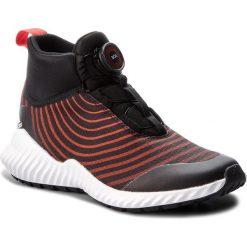 Buty adidas - FortaTrail Boa K AH2543 CblackFtwwht/Hirere. Czarne obuwie sportowe damskie Adidas, z materiału. W wyprzedaży za 199.00 zł.