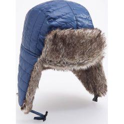 Czapka uszatka - Granatowy. Niebieskie czapki i kapelusze męskie Reserved. Za 69.99 zł.