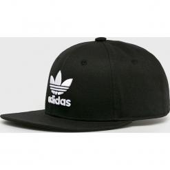 Adidas Originals - Czapka. Czarne czapki i kapelusze damskie adidas Originals, z bawełny. Za 99.90 zł.