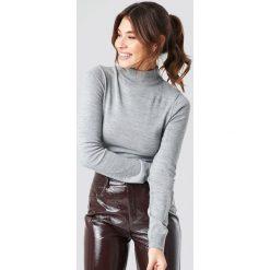 Trendyol Sweter z półgolfem - Grey. Szare swetry damskie Trendyol, z materiału. Za 80.95 zł.