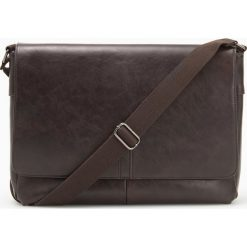 Torba na ramię - Brązowy. Brązowe torby na ramię męskie Reserved. Za 129.99 zł.