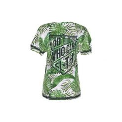 T-shirt Tropical Green. Zielone t-shirty damskie Who cares. Za 89.99 zł.