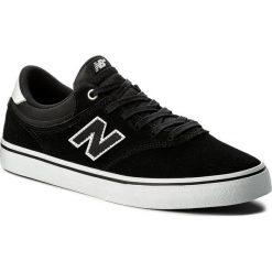 Tenisówki NEW BALANCE - NM255BWH Czarny. Czarne trampki męskie New Balance, z gumy. W wyprzedaży za 259.00 zł.