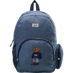Polo Ralph Lauren CAMPUS BACKPACK Plecak blue chambray nylon/ navy w/boy sweater bear. Plecaki damskie Polo Ralph Lauren, z nylonu. Za 379.00 zł.