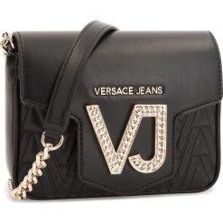 Torebka VERSACE JEANS - E1VSBBI2  70784 899. Czarne listonoszki damskie Versace Jeans, z jeansu. Za 649.00 zł.