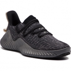Buty adidas - Alphabounce Trainer W D96710 Cblack/Grefou/Rawwht. Szare obuwie sportowe damskie Adidas, z materiału. Za 399.00 zł.