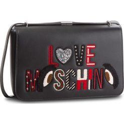 Torebka LOVE MOSCHINO - JC4290PP06KM0000 Nero. Czarne listonoszki damskie Love Moschino, ze skóry ekologicznej. Za 919.00 zł.