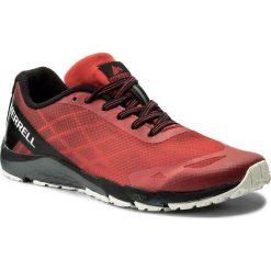Buty MERRELL - Bare Access MY58618  Red/Black. Czerwone obuwie sportowe damskie Merrell, z materiału. W wyprzedaży za 149.00 zł.