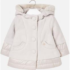 Mayoral - Płaszcz dziecięcy 92-134 cm. Szare kurtki i płaszcze dla dziewczynek Mayoral, z elastanu. Za 269.90 zł.