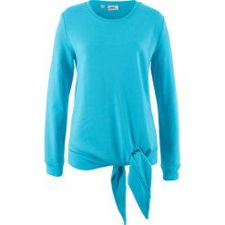 Bluza z przewiązaniem bonprix jasny niebieski. Bluzy damskie marki KALENJI. Za 27.99 zł.