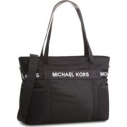 Torebka MICHAEL MICHAEL KORS - The Michael Bag 30T8T01T3C  Black. Czarne torebki do ręki damskie MICHAEL Michael Kors, z materiału. W wyprzedaży za 839.00 zł.