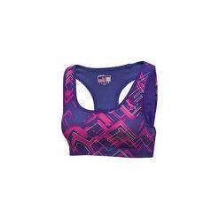 Puma Biustonosz Sportowy Ess Gym Graphic Bra Top Spectrum Xs. Niebieskie t-shirty i topy dla dziewczynek Puma, z materiału. W wyprzedaży za 80.00 zł.
