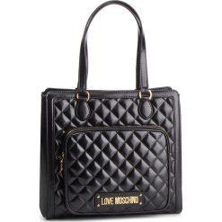 Torebka LOVE MOSCHINO - JC4001PP17LA0000 Nero. Czarne torebki do ręki damskie Love Moschino, ze skóry ekologicznej. Za 959.00 zł.