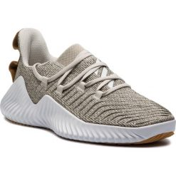 Buty adidas - AlphaBounce Trainer M D96705 Rawwht/Ftwwht/Rawdes. Brązowe buty sportowe męskie Adidas, z materiału. Za 399.00 zł.