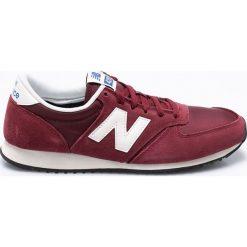 New Balance - Buty U420RDW. Brązowe buty sportowe męskie New Balance, z materiału. W wyprzedaży za 239.90 zł.