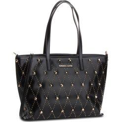 Torebka VERSACE JEANS - E1VSBBE2  70778 899. Czarne torebki do ręki damskie Versace Jeans, z jeansu. Za 939.00 zł.