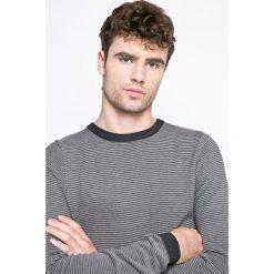 Tokyo Laundry - Sweter. Szare swetry przez głowę męskie Tokyo Laundry, z bawełny, z okrągłym kołnierzem. W wyprzedaży za 39.90 zł.
