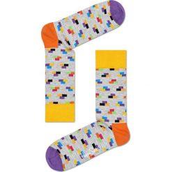 Happy Socks - Skarpety. Szare skarpety męskie Happy Socks, z bawełny. W wyprzedaży za 29.90 zł.
