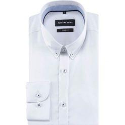 Koszula SIMONE  KDBR000476. Białe koszule męskie Giacomo Conti, z bawełny, button down, z długim rękawem. Za 299.00 zł.