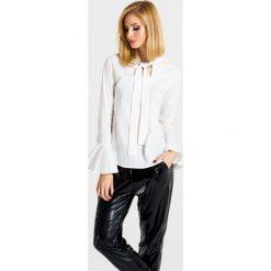Naoko - Bluzka Frozen x Edyta Górniak. Szare bluzki damskie NAOKO, z bawełny, casualowe. W wyprzedaży za 99.90 zł.