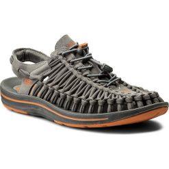 Sandały KEEN - Uneek Flat 1016901 Gargoyle/Burnt Orange. Szare sandały męskie Keen, z materiału. W wyprzedaży za 339.00 zł.