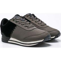 Calvin Klein Jeans - Buty Emile. Czarne buty sportowe męskie Calvin Klein Jeans, z jeansu. W wyprzedaży za 429.90 zł.